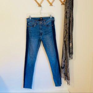 BDG • Skinny Stretch Two-Tone Jeans